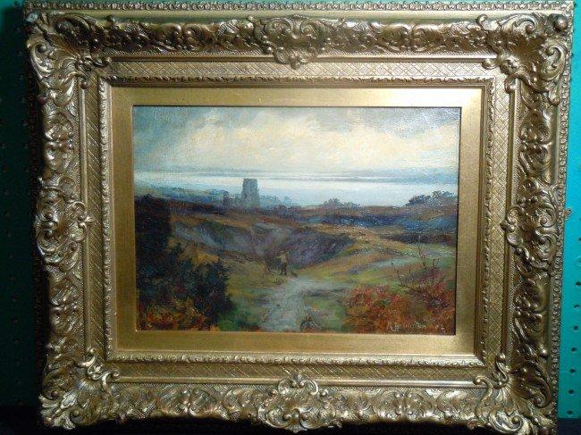 15: Robert Hamilton, Oil on Canvas
