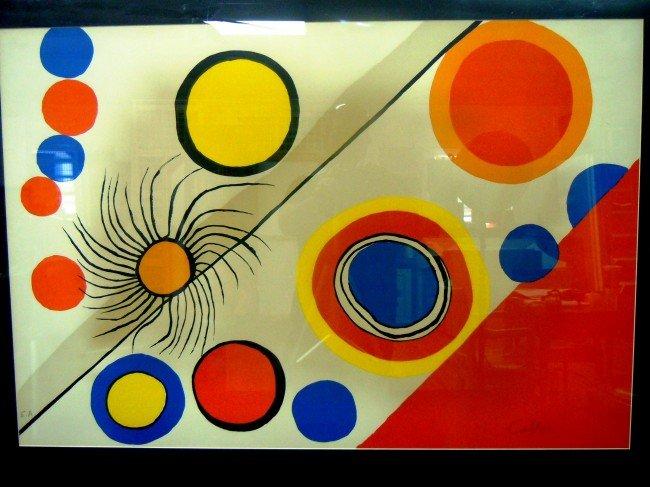 "17: Alexander Calder, ""Spider's Nest"" Artist Proof"