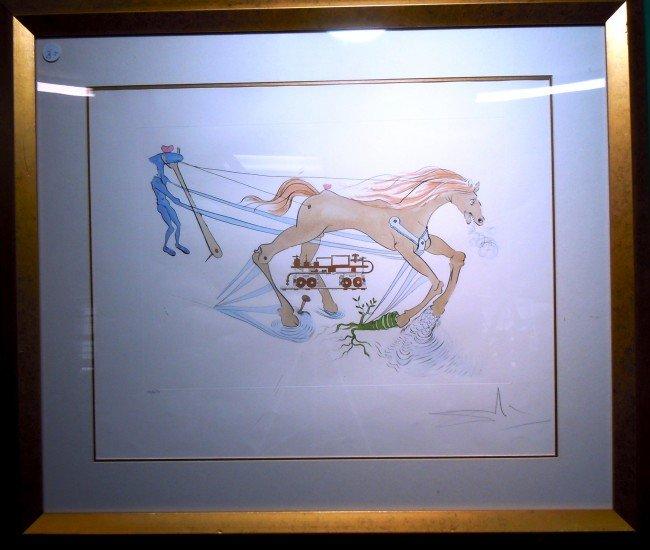 """20: Salvador Dali, """"Le Frein Hydraulique"""""""