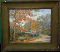 42 George Gardner Symons Oil Painting On Board