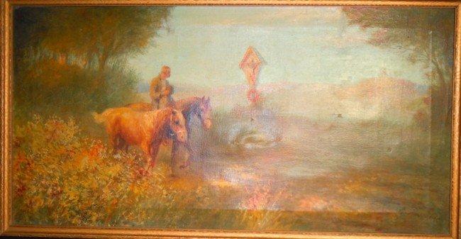 189: Eugen Rosenfeld, Oil on Canvas
