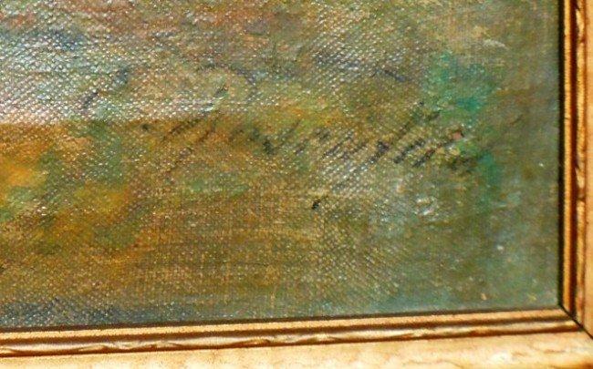 189: Eugen Rosenfeld, Oil on Canvas  - 2