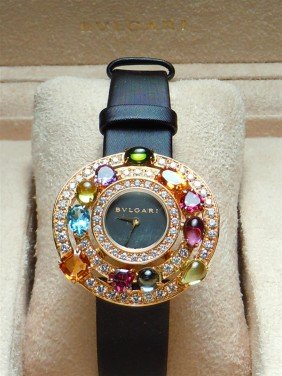 3: 2005 18KYG & Diamond Astrale Bvlgari Watch