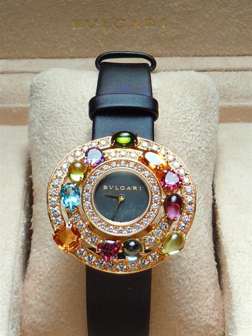 3: 2005 18KYG & Diamond Astrale Bvlgari Watch