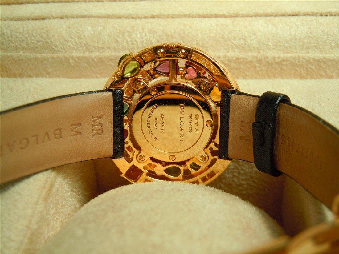 3: 2005 18KYG & Diamond Astrale Bvlgari Watch - 3