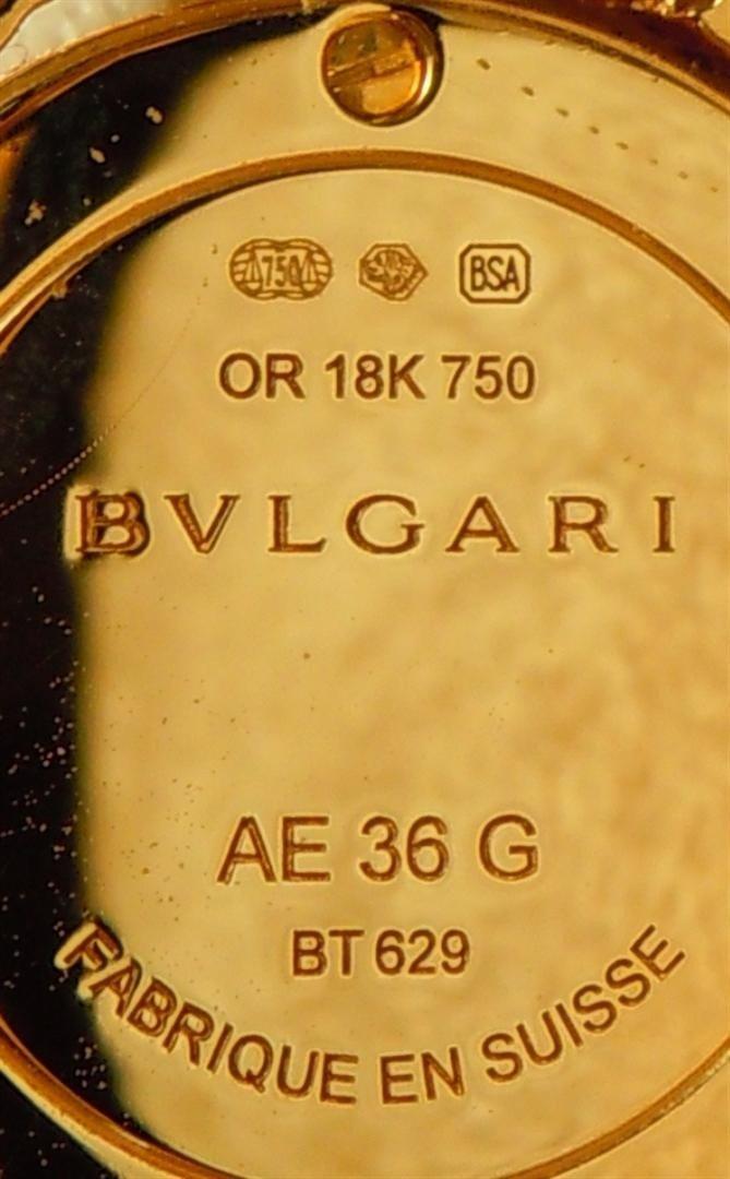 3: 2005 18KYG & Diamond Astrale Bvlgari Watch - 6