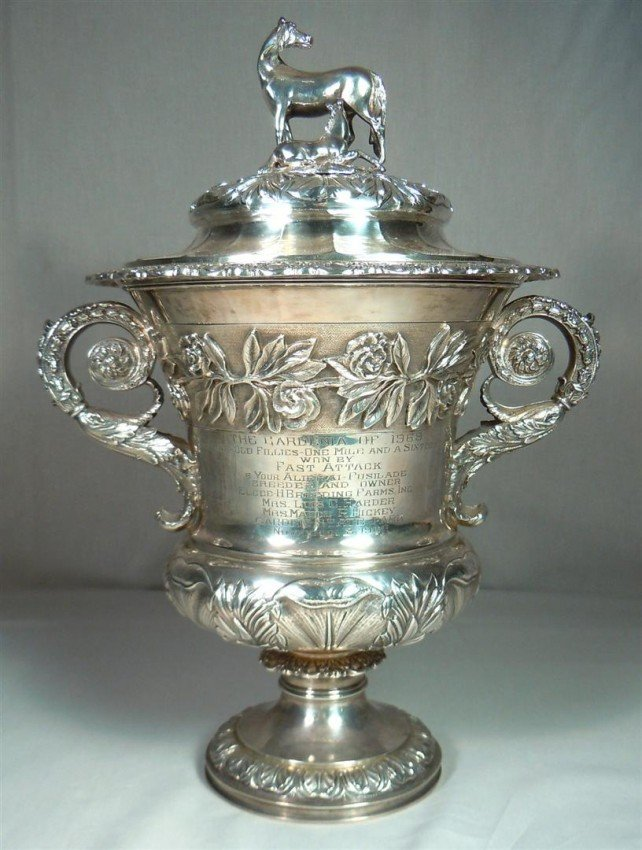 60: English Sterling Silver Trophy - The Gardenia