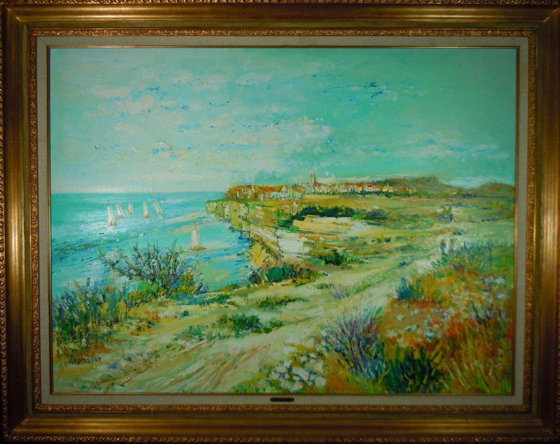 2: Monumental Yolande Ardissone, Oil on Canvas