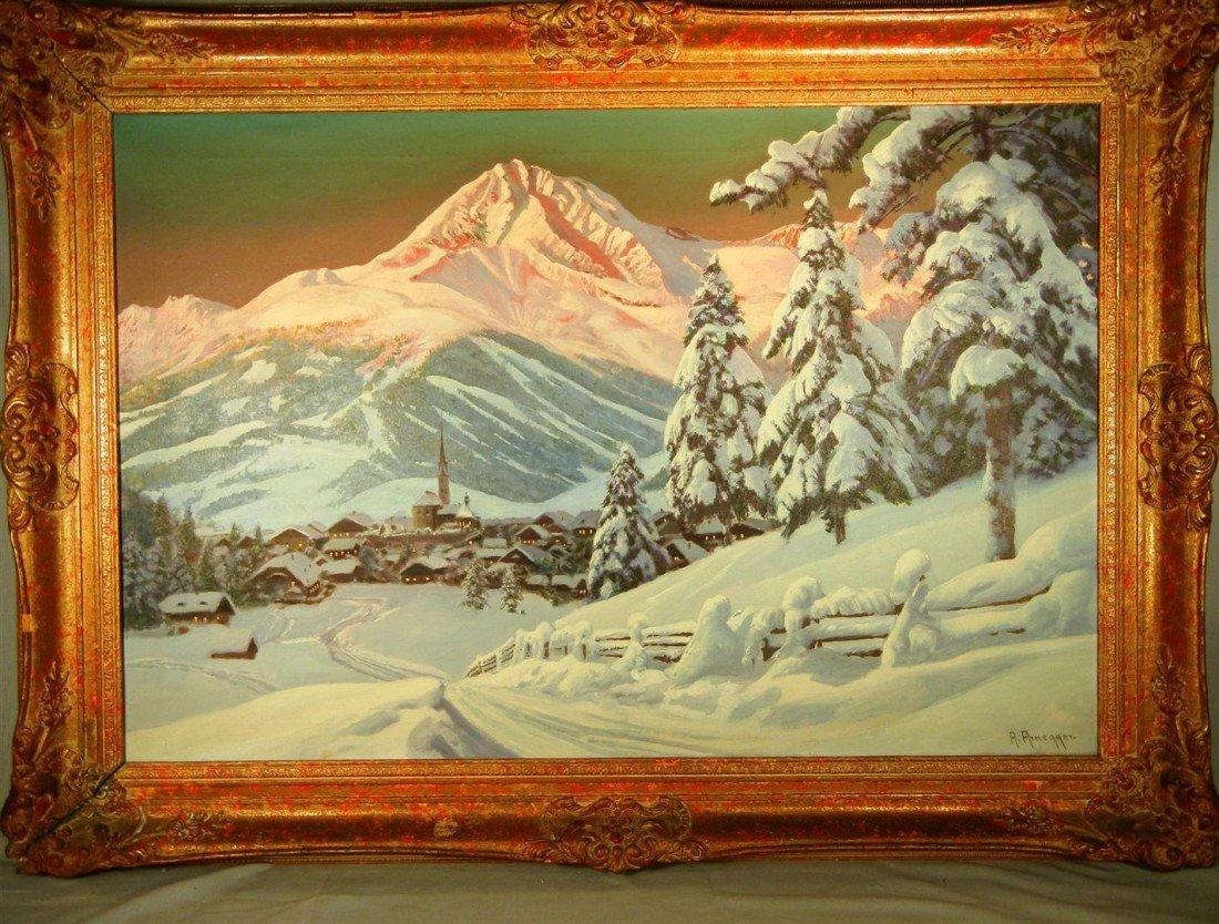 "4: Alois Arnegger, ""Austrian Alps"""