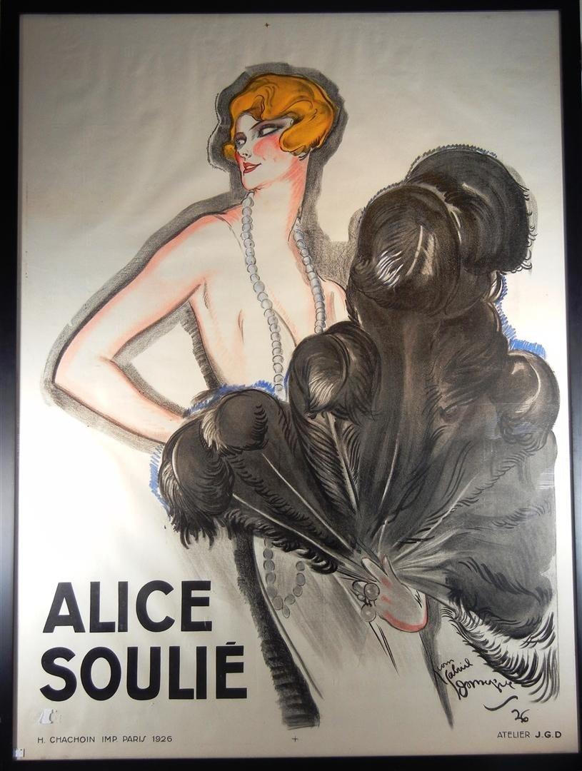 """5: Jean Gabriel Domergue, """"Alice Soulie"""""""