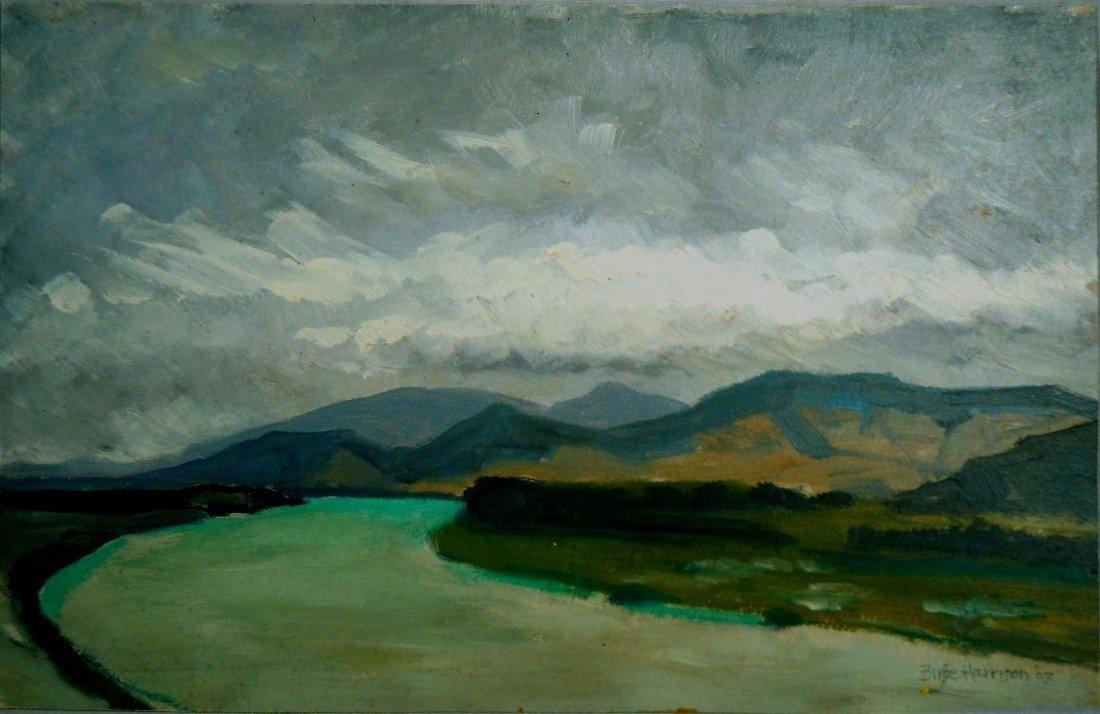 7: Birge Harrison, Oil on Board