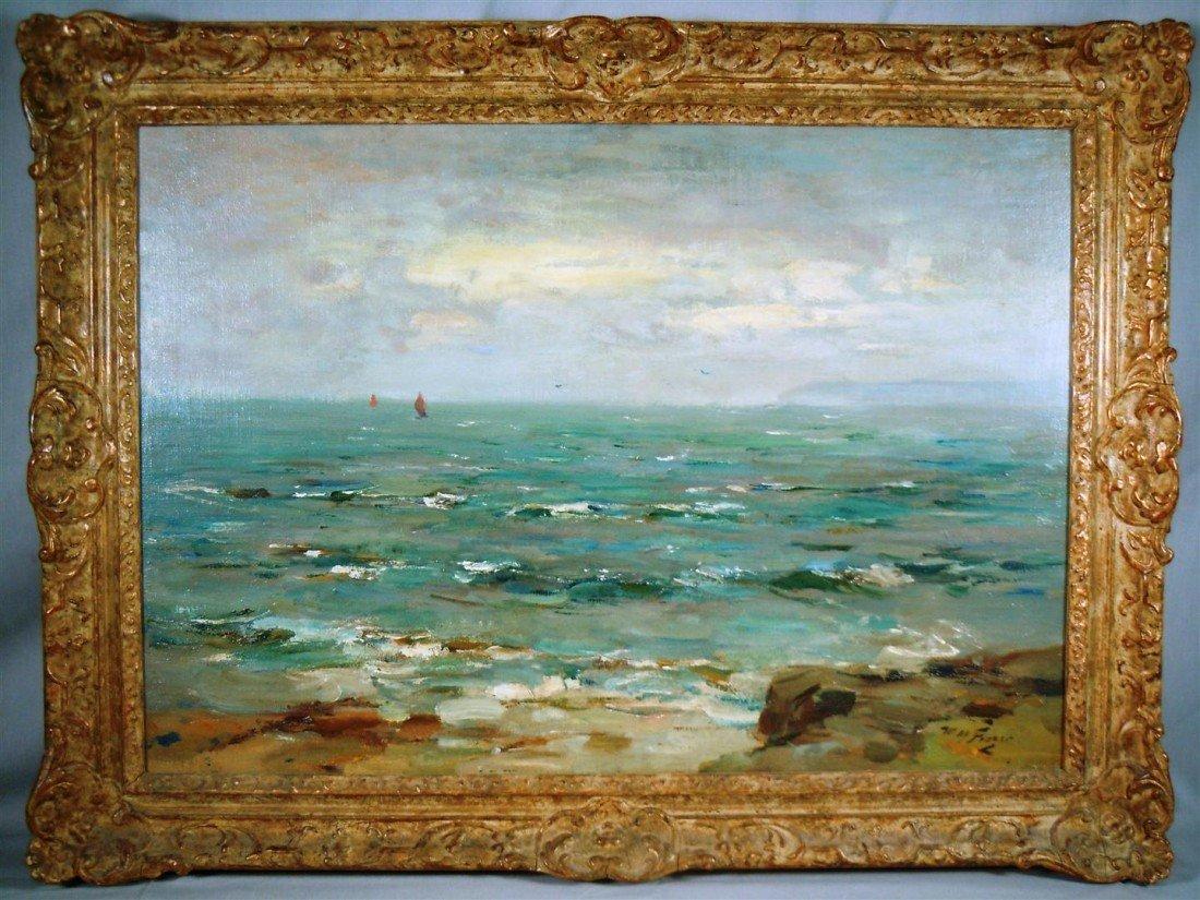 8: William M. Frazer, Scotland, Oil on Canvas