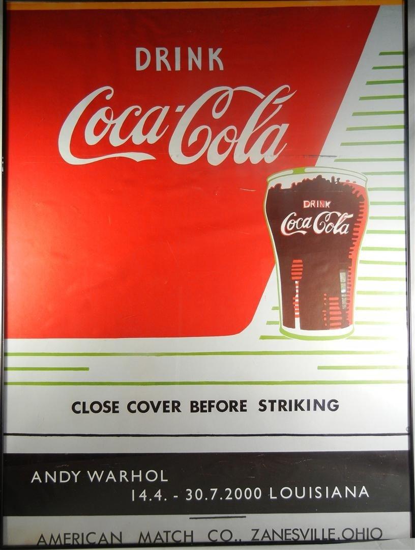 10: Andy Warhol Coca Cola Poster