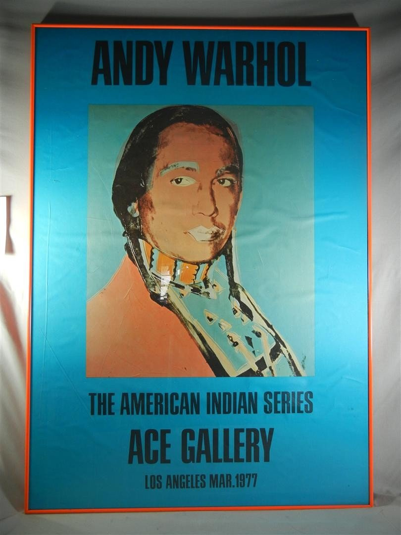 """11: Andy Warhol """"The American Indian Series"""""""