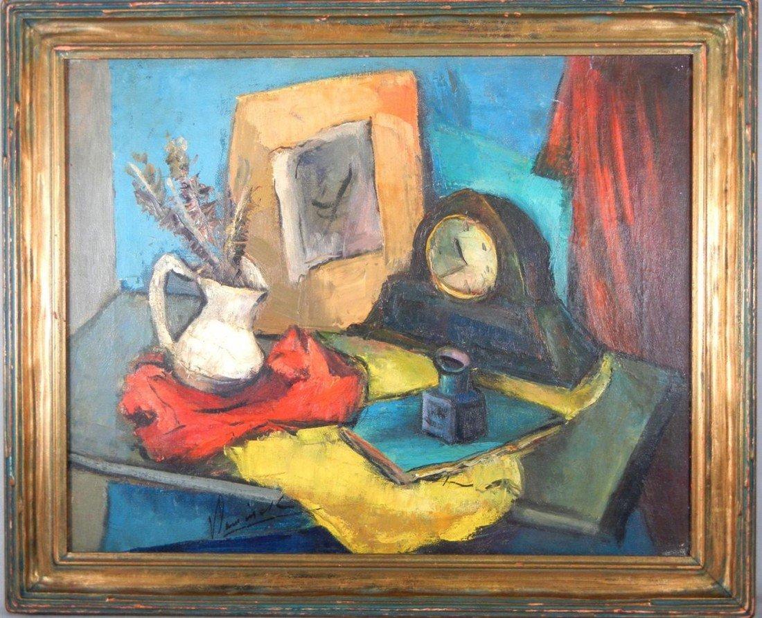 16: Maurice de Vlaminck, Oil on Canvas