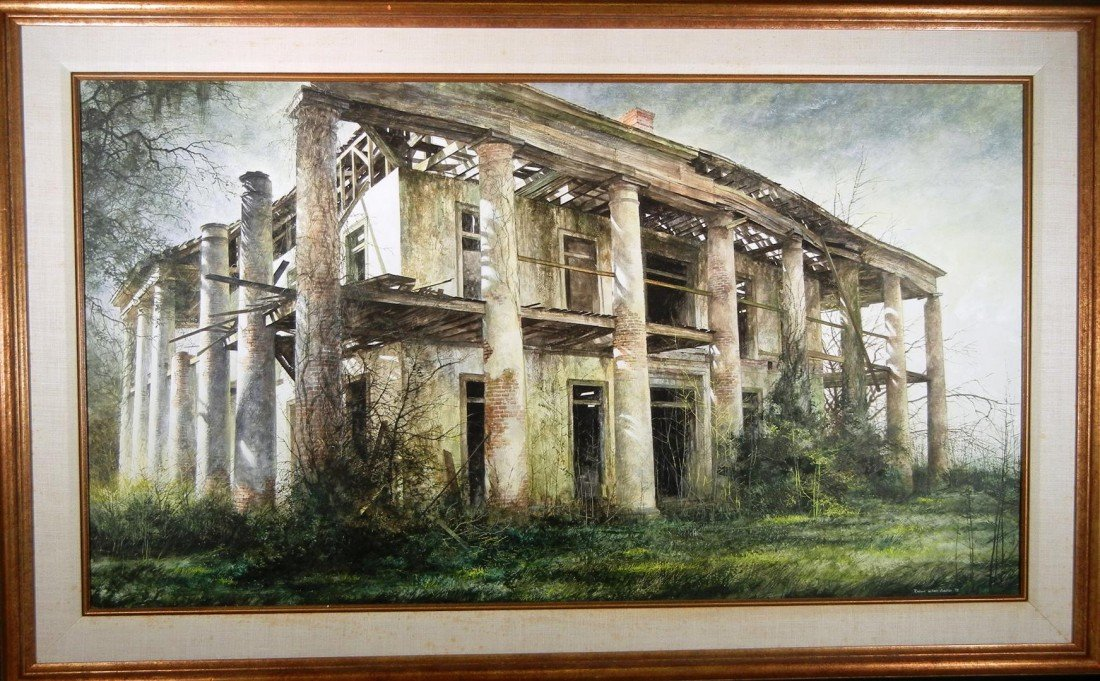 18: Robert Addison,  Tempera & Oil on Canvas