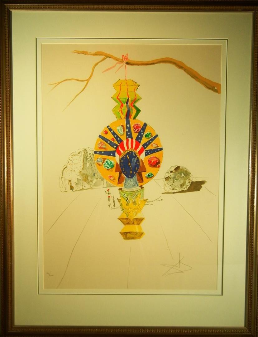 """22: Salvador Dali,  """"American Clock"""""""