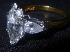 14: GIA Certified Brilliant Cut Large Diamond Ring
