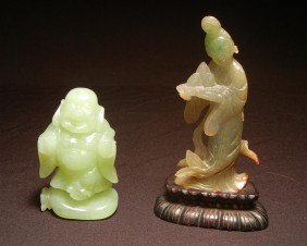 17: Chinese Carved Jade Figures