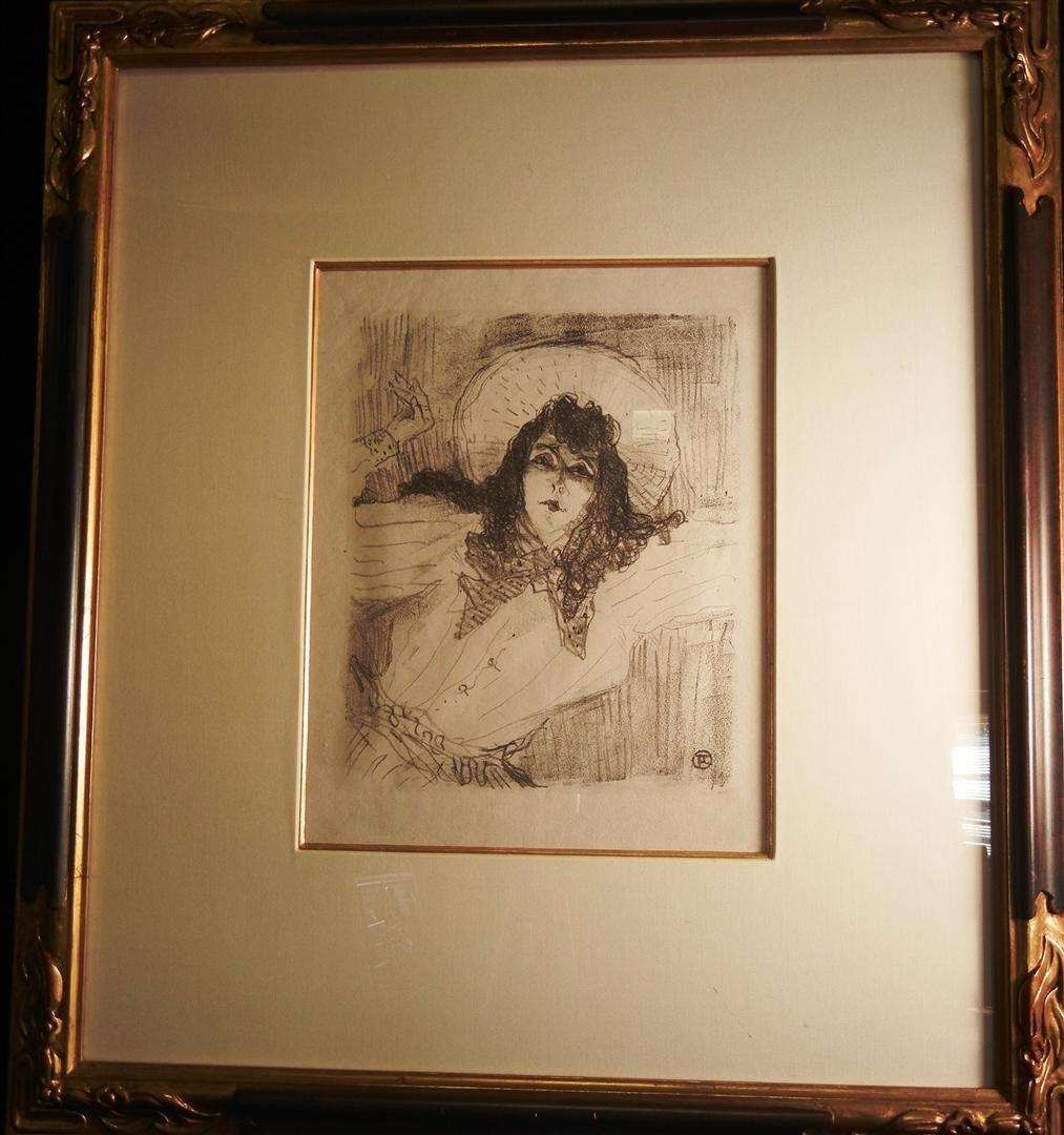 26: Henri de Toulouse-Lautrec, Lithograph
