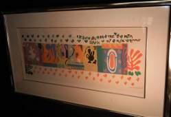 155: Henri Matisse, Color Lithograph