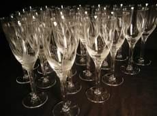 209: Lalique Angel Champagne Flute Set