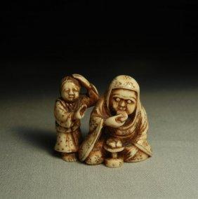 19thc. Ivory Netsuke