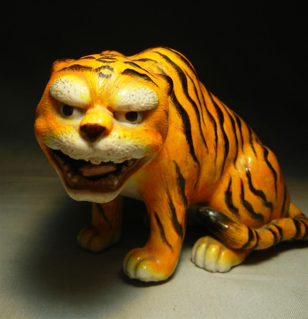 82: 19thc. Chinese Pottery Tiger