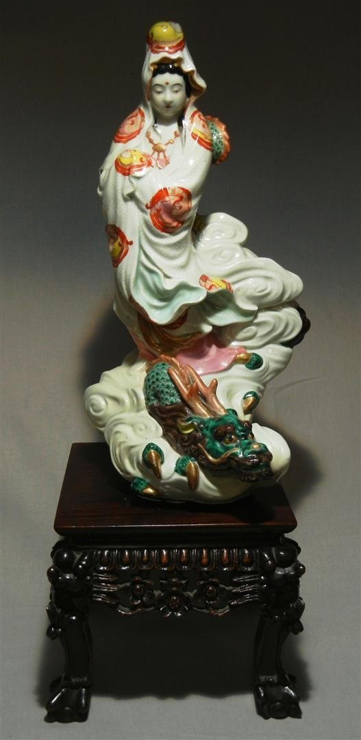 86: 20thc. Chinese Porcelain Woman