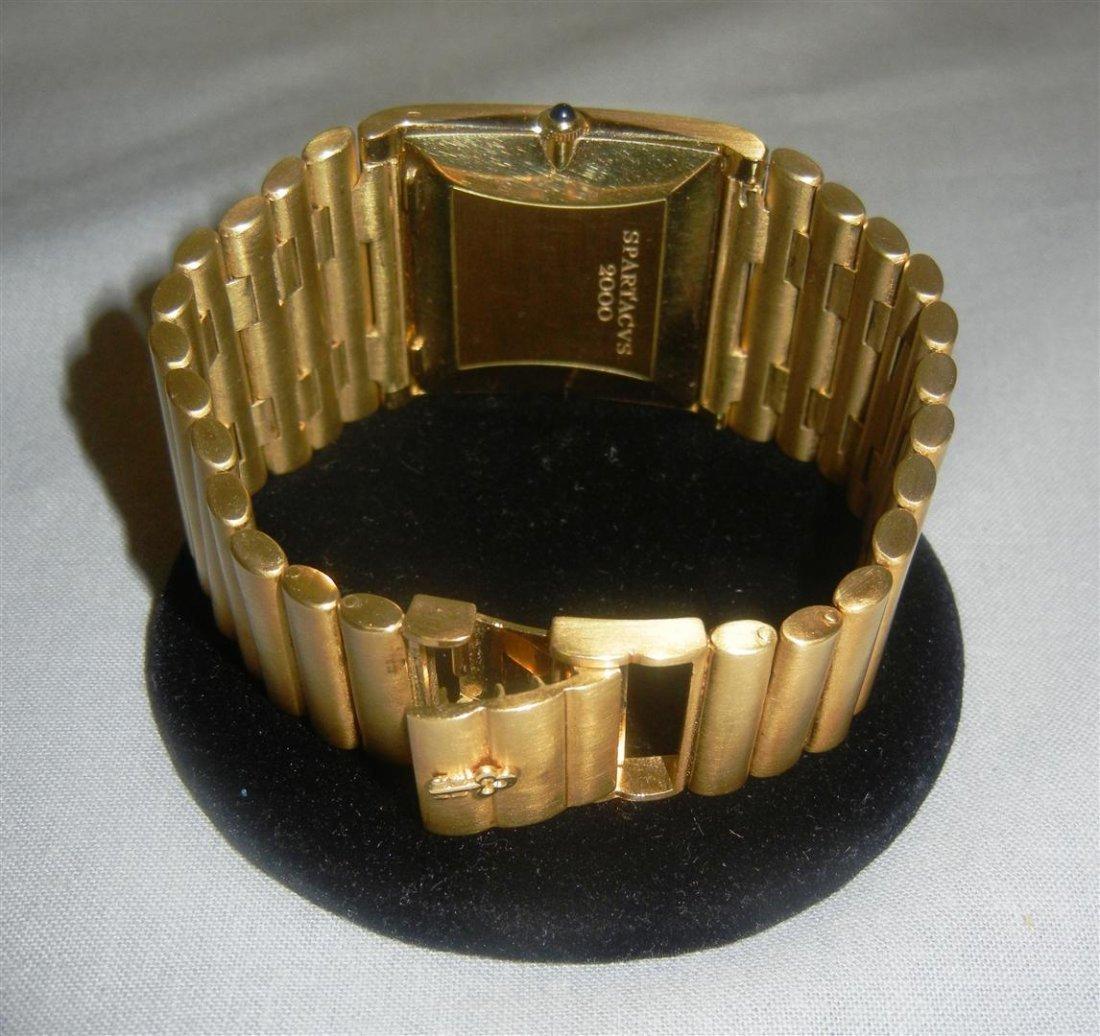 """207: 18K Heavy Gold Corum """"Spartacus"""" Watch - 3"""