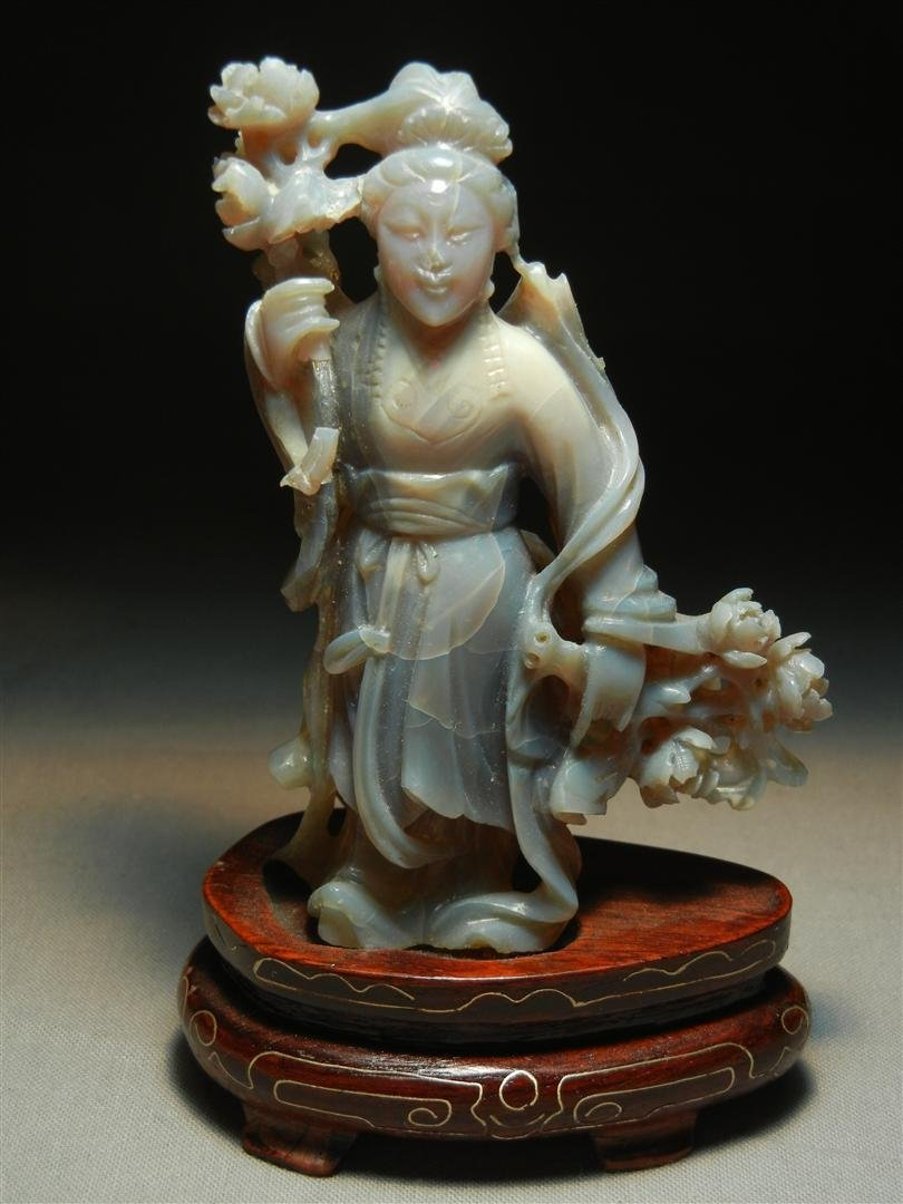 259: Chinese Agate Carving