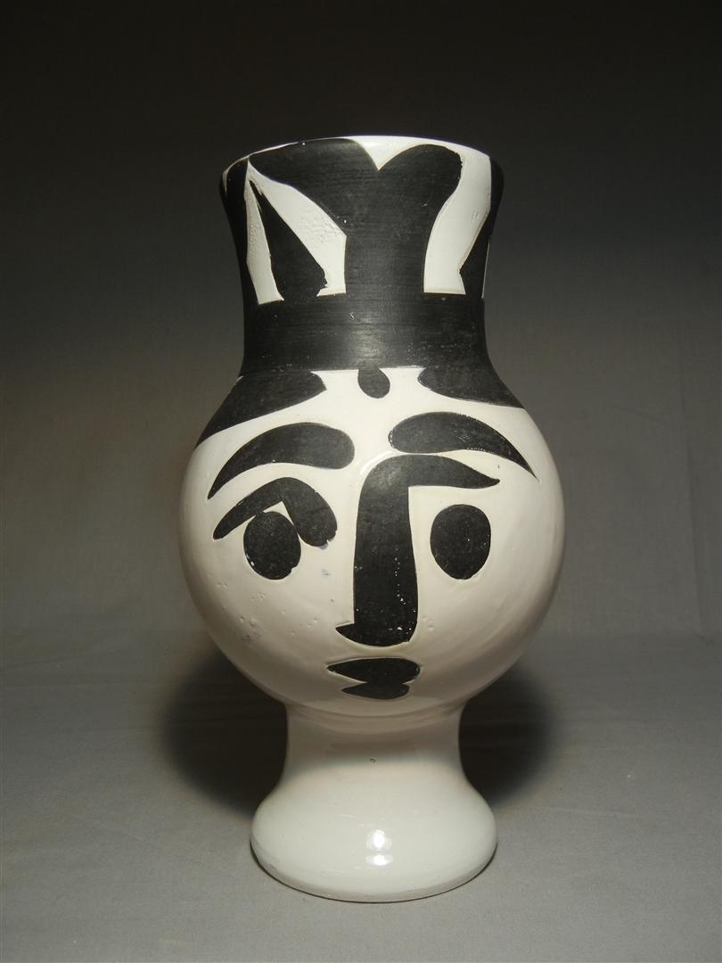 402: Picasso Madoura, Ceramic Figural Vessel