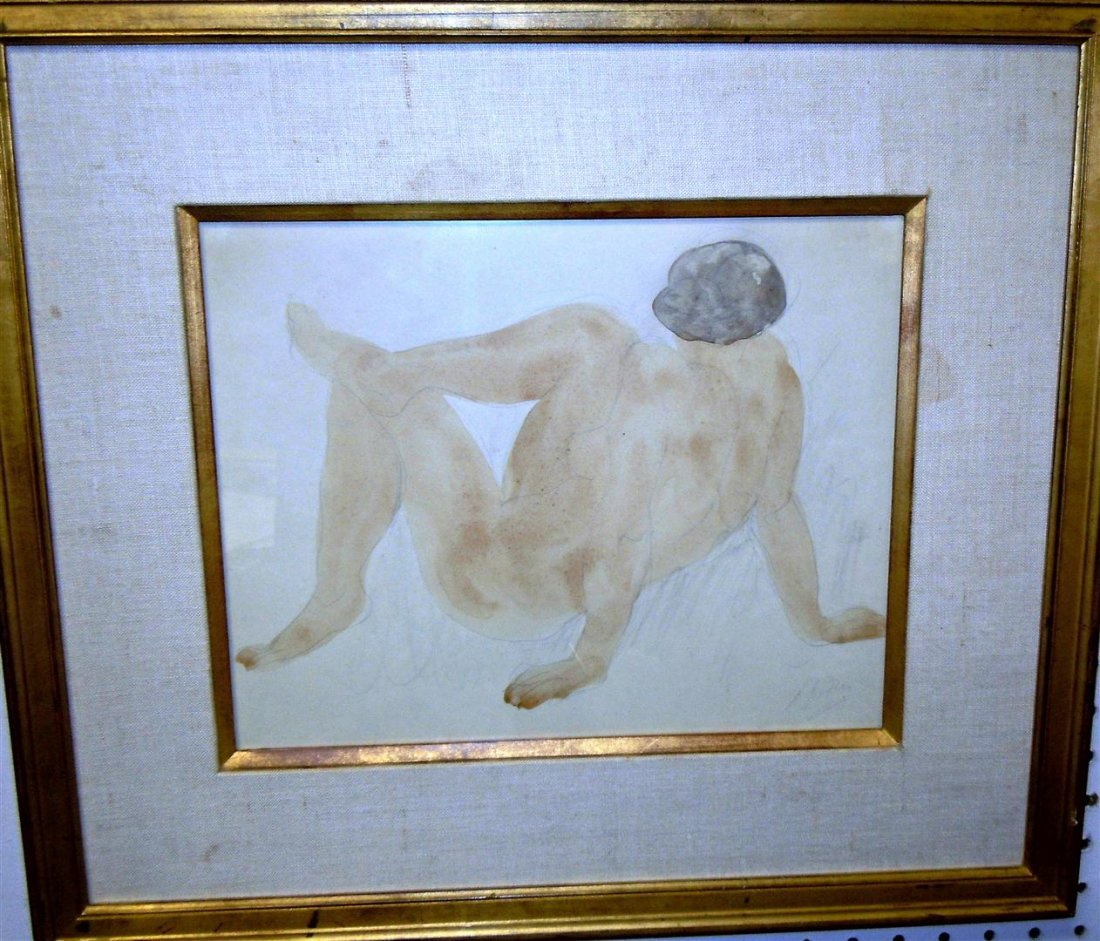 "404: Auguste Rodin, ""Nude with Legs Crossed"""