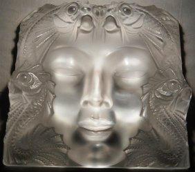 """Lalique """"Masque De Femme"""""""