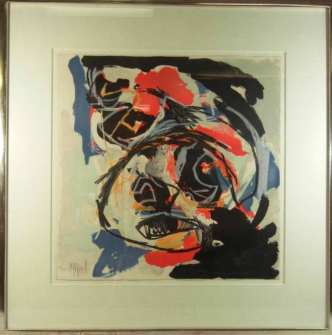 420: Karel Appel, Lithograph in Color