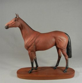 Beswick Connoisseur Model Of Red Rum