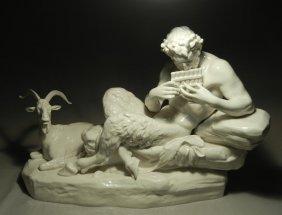 Large Nymphenburg Porcelain Group