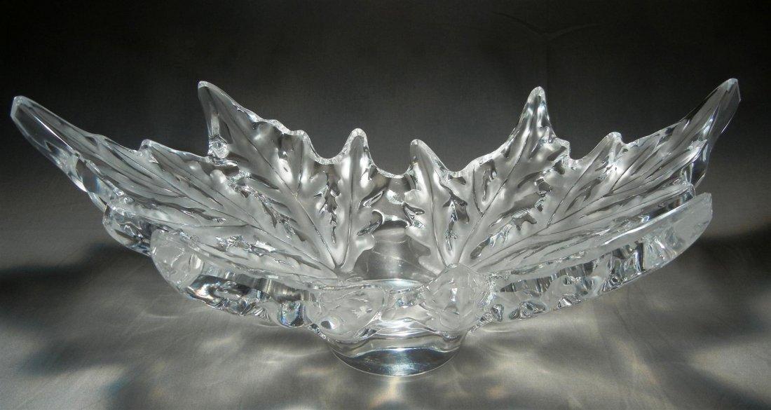 """472: Lalique """"Champs-Elysees Bowl"""