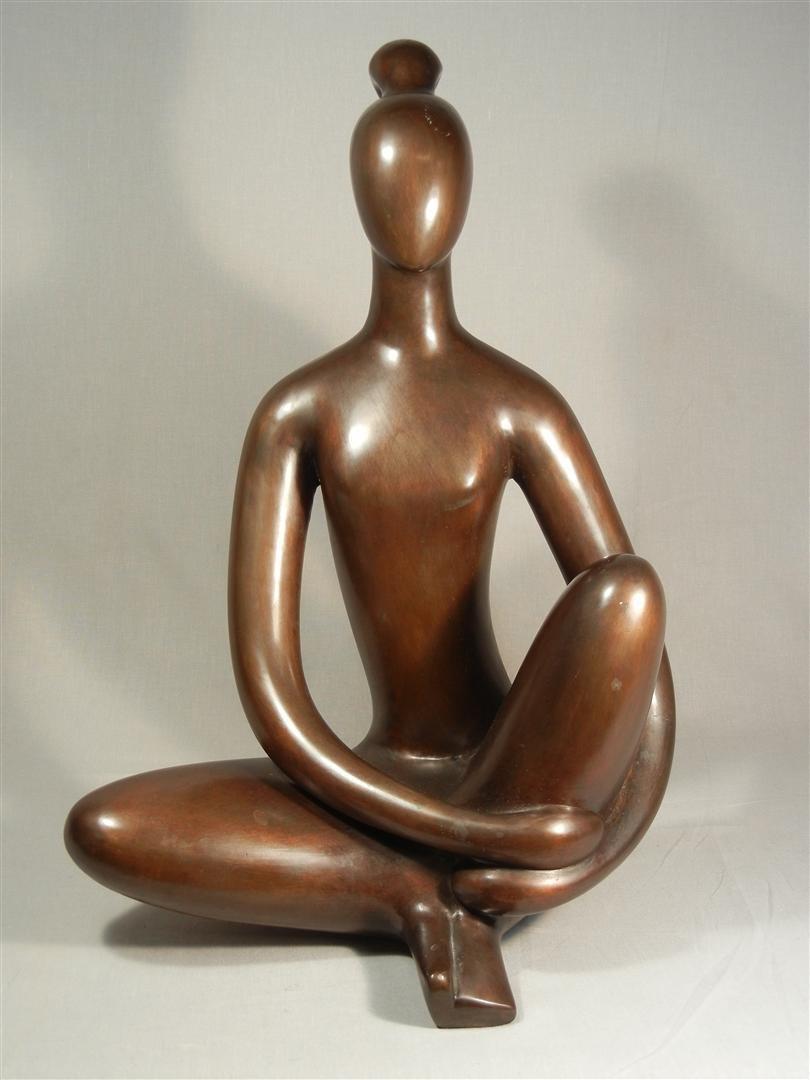 479: Signed Modernist Bronze c. 1920