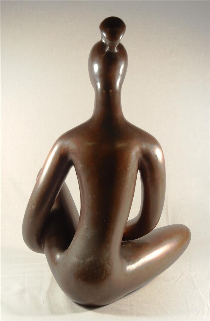 479: Signed Modernist Bronze c. 1920 - 3