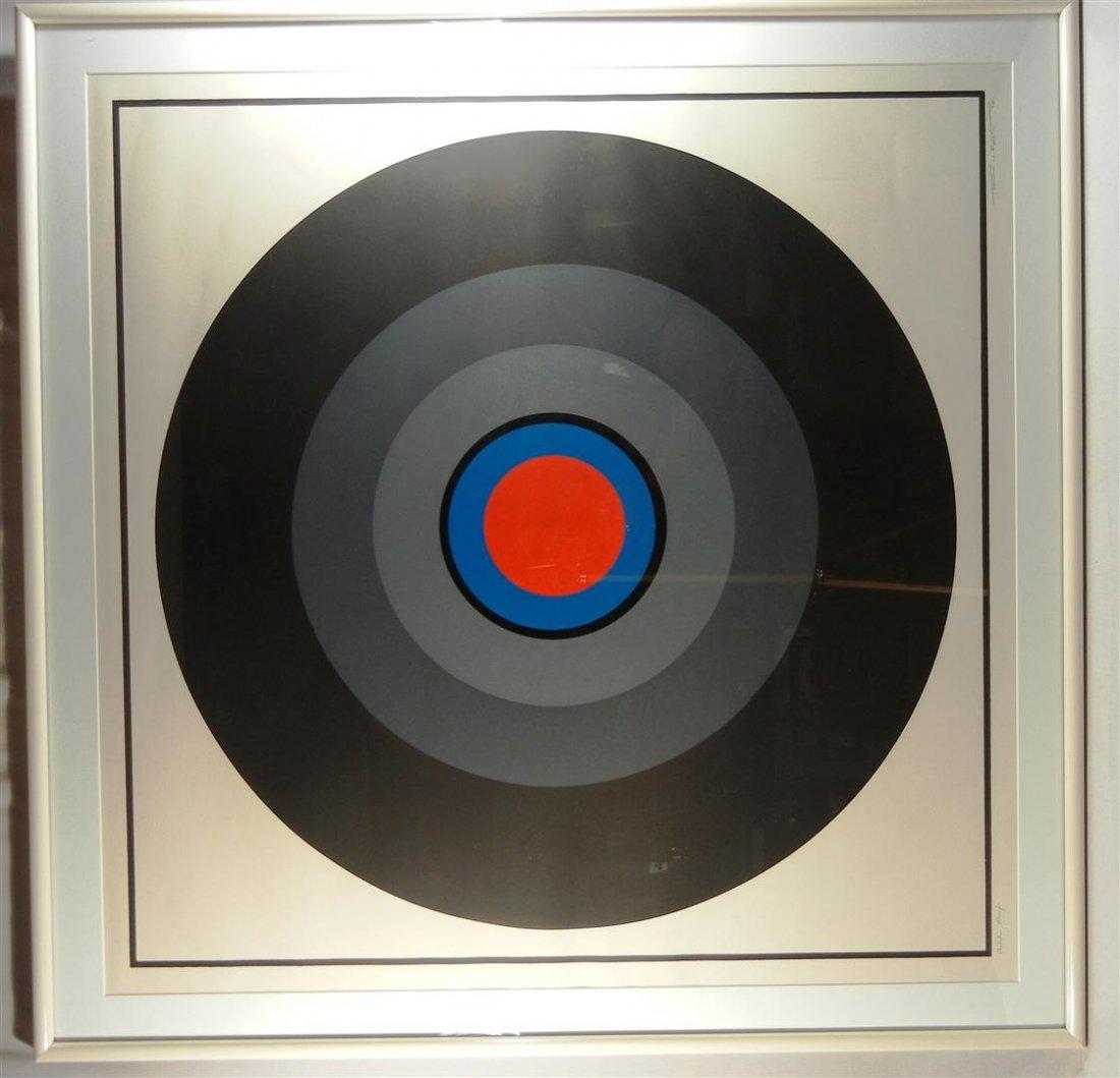 485: Thomas W. Benton, Colored Silkscreen