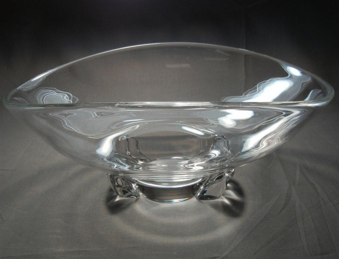 490: Steuben Oblong Bowl