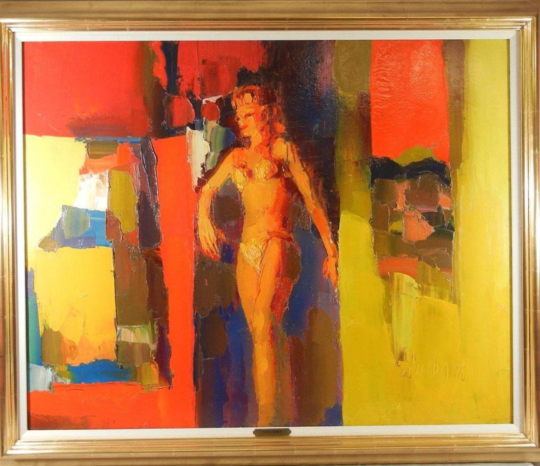 """491: Nicola Simbari, """"Girl in Bikini"""""""