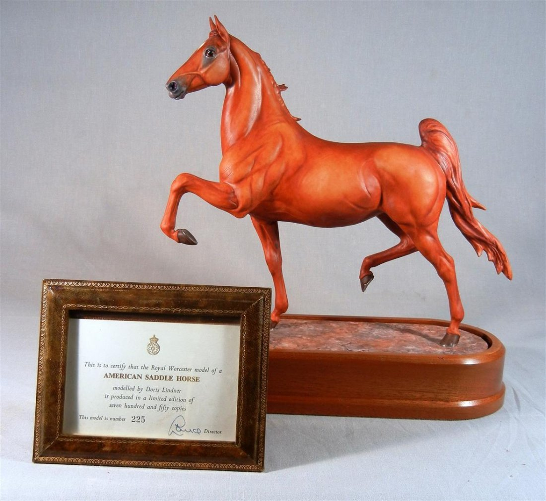 543: Royal Worcester, American Saddle Horse