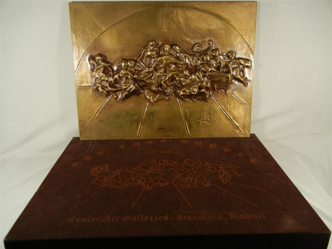 556: Salvador Dali, Bronze, The Last Supper