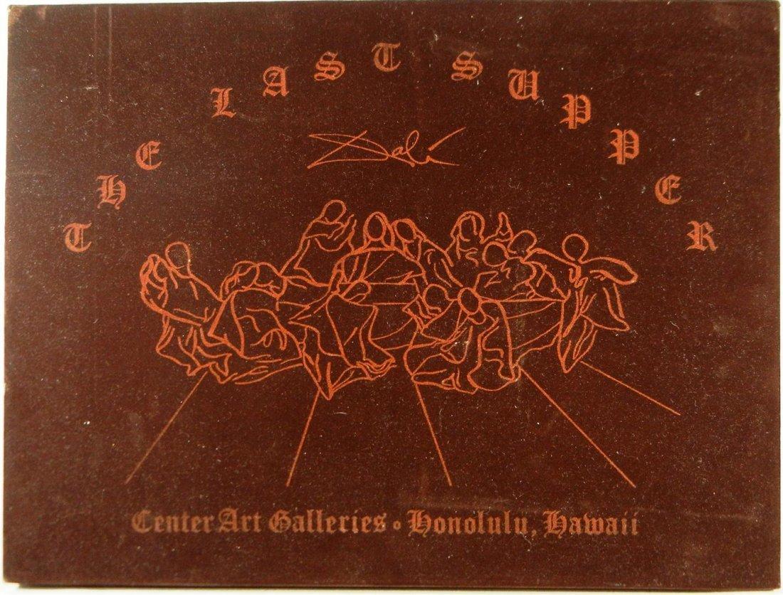 556: Salvador Dali, Bronze, The Last Supper  - 2