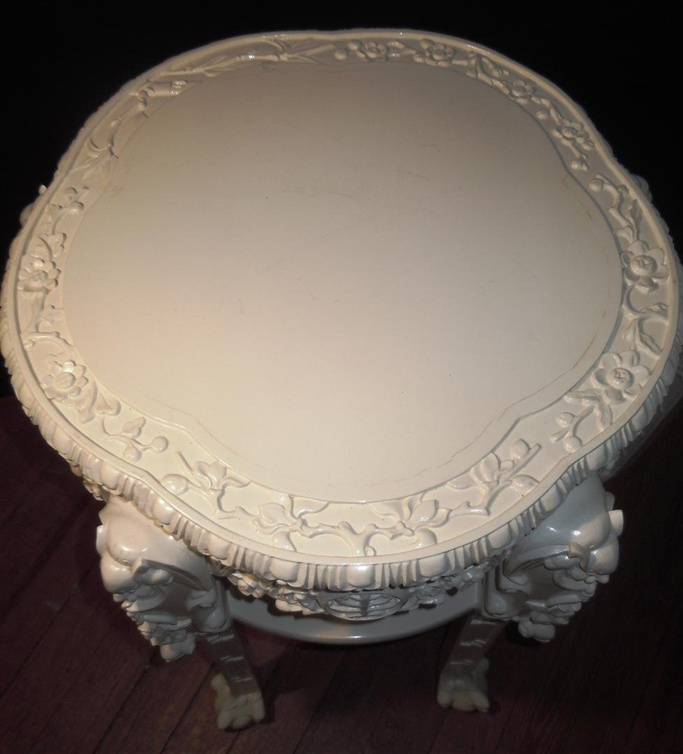 663: 19thc. Chinese Padouk Wood Tables - 4