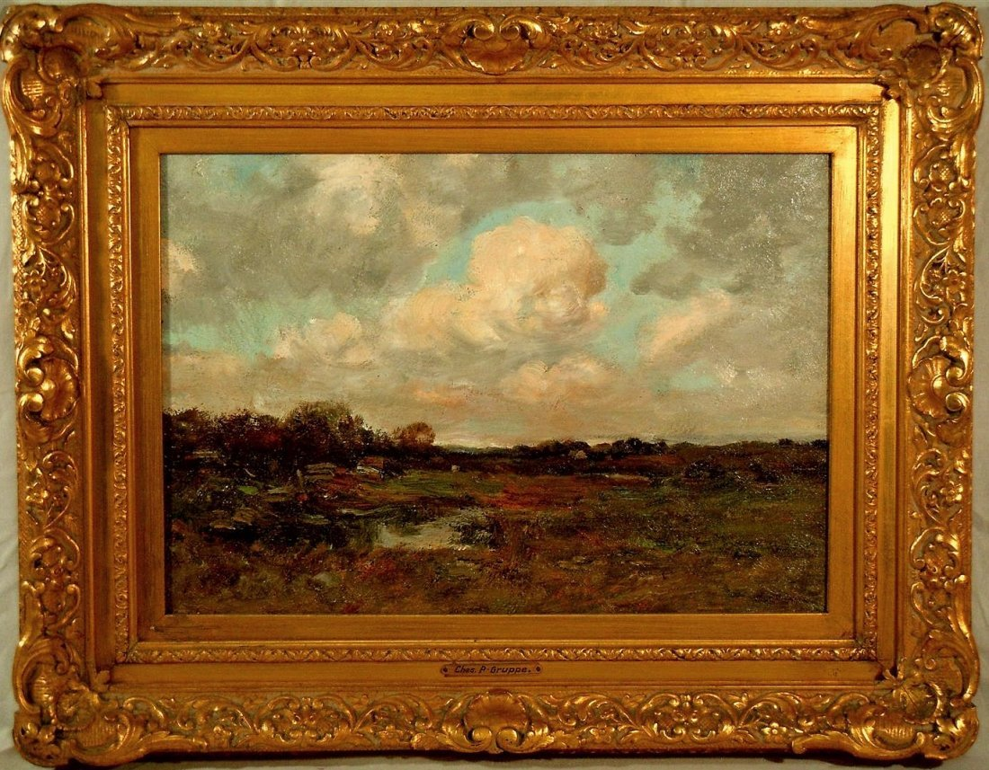 Charles Paul Gruppe, Oil on Canvas