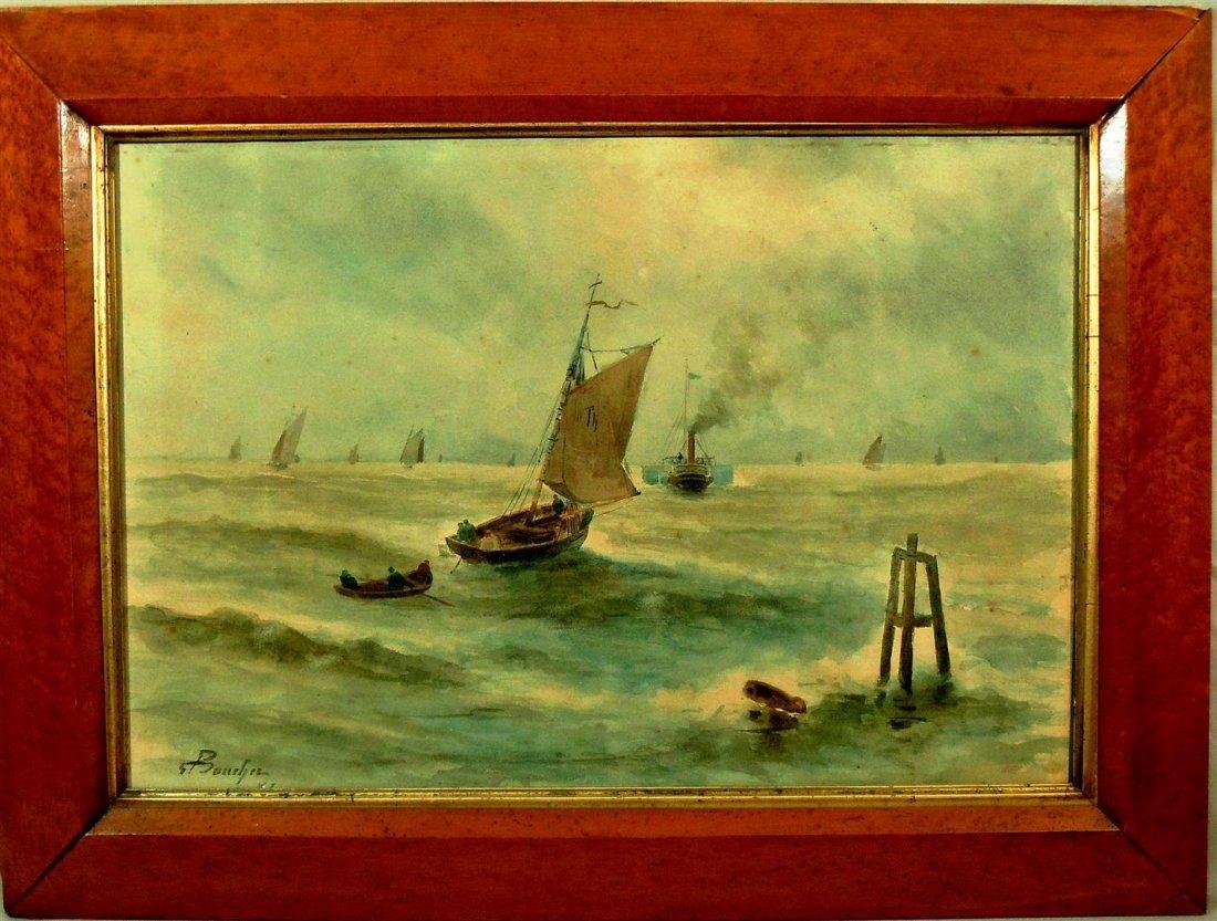 Charles Bouchez, Watercolor