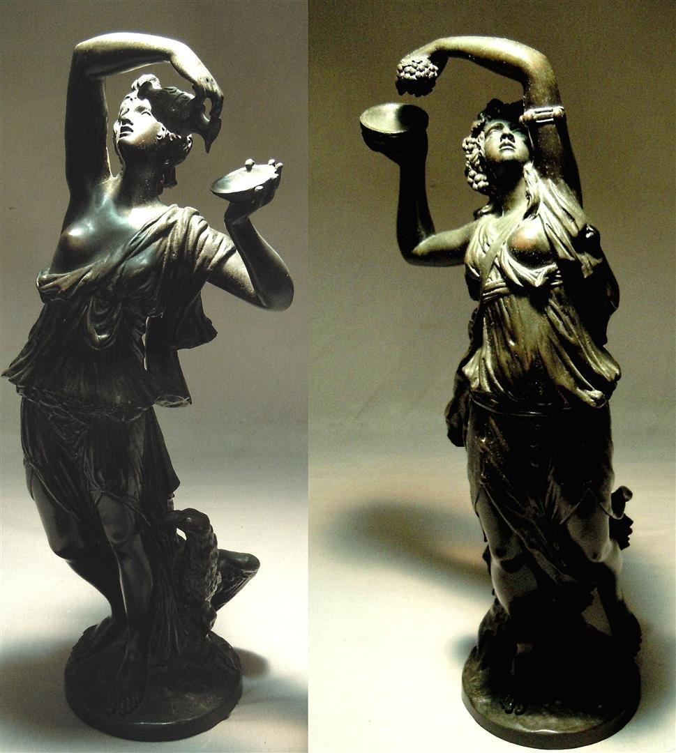 Michel Clodion, Bronze Bacchantes
